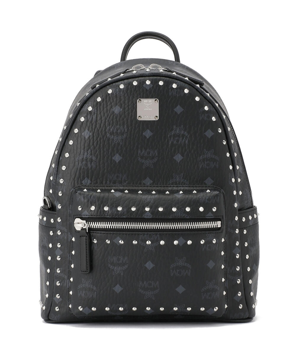 MCM/エムシーエム/〈スターク〉スタッズ付き ヴィセトス バックパックスモール/OutlineStuds BackPack Small
