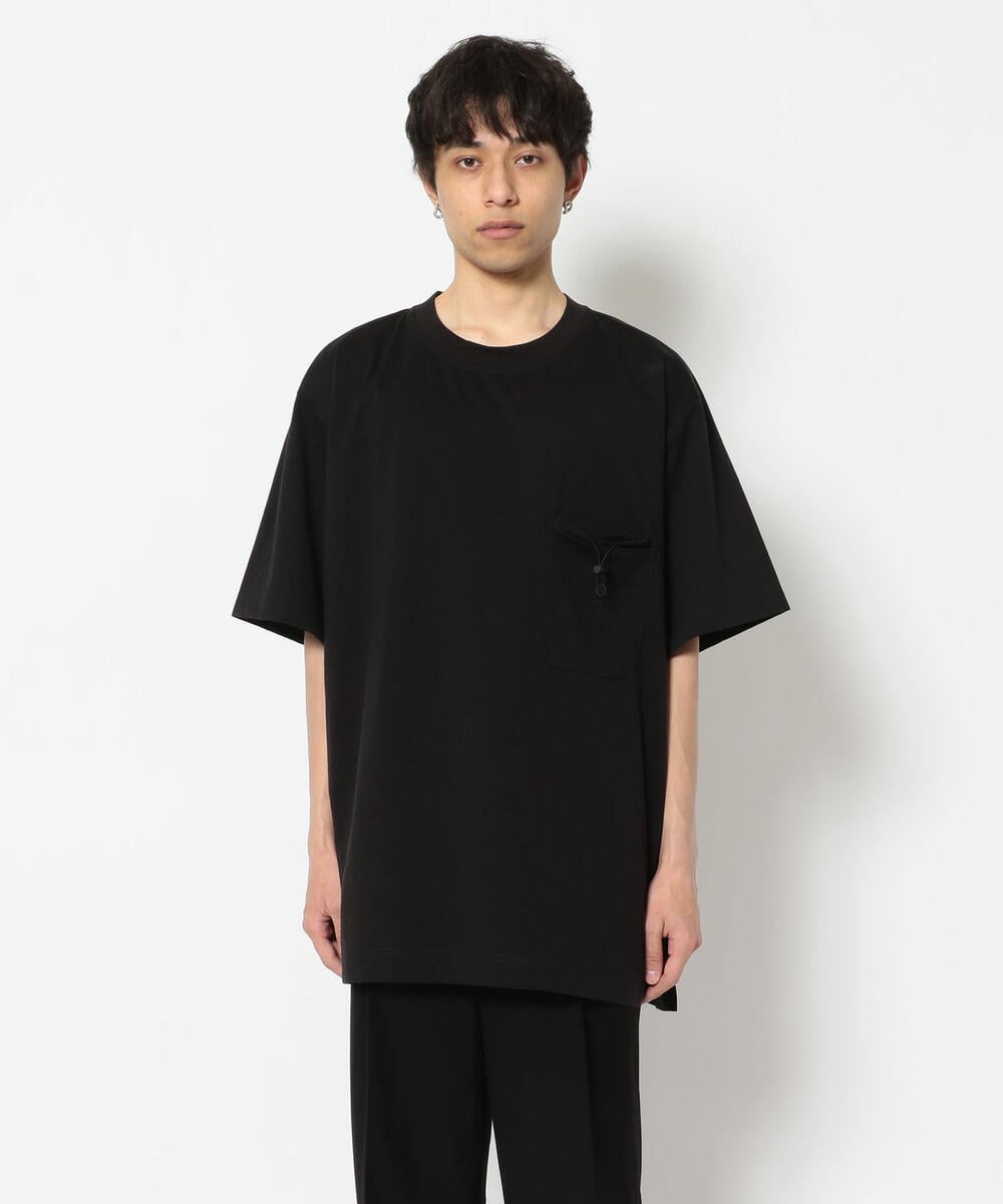 Y-3/ワイスリー/PAPER JERSEY POCKET TEE/Tシャツ