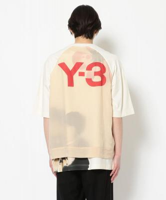 Y3/ワイスリー/GFX SS TEE FLORAL/Tシャツ