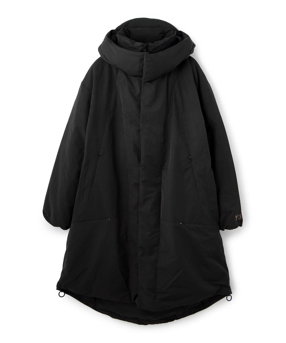 Y-3/ワイスリー/M CH2 SUEDED POLY DOWN JACKET /ロングダウンジャケット