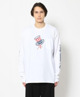 AiE/エーアイイー/PRINTED L/S TEE/プリントTシャツ