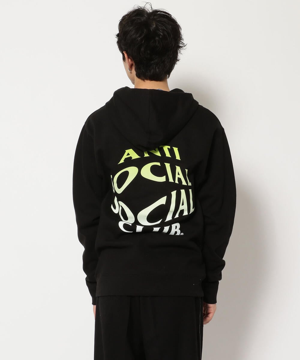 AntiSocialSocialClub/アンチソーシャルソーシャルクラブ/CRYSTAL CLEAR HOODIE/フーディー