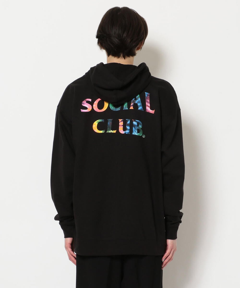 AntiSocialSocialClub/アンチソーシャルソーシャルクラブ/FUNKY FOREST BLACK HOODIE/グラフィックプリントパーカー