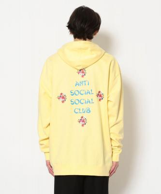 AntiSocialSocialClub/アンチソーシャルソーシャルクラブ/2 MUCH OF HEAVEN HOODIE/グラフィックプリントパーカー