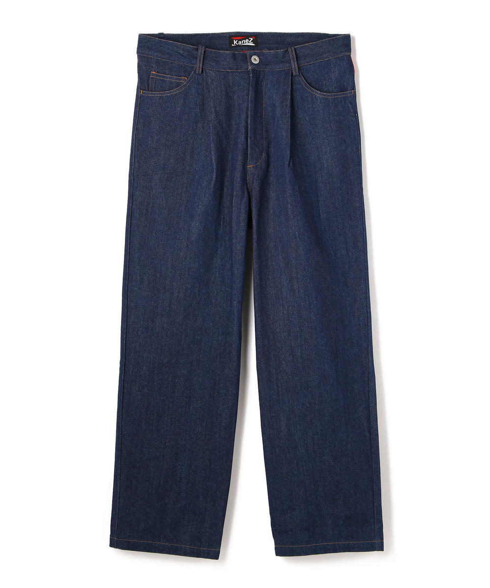 KaneZ/ケインズ/LOGO DENIM PANTS