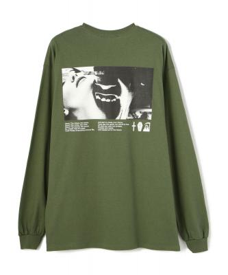 KaneZ/ケインズ/グラフィックプリントロンT/C.R.E.A.M L/S TEE