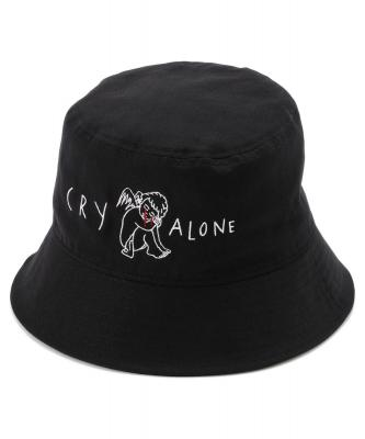 """AZS TOKYO/アザストーキョー/CRY ALONE BUCKET HAT/""""CRY ALONE""""バケットハット"""