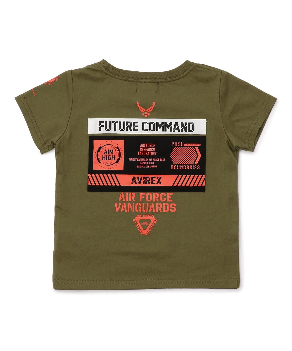 【KIDS/キッズ】シーチングパッチ Tシャツ/PATCHED T-SHIRT