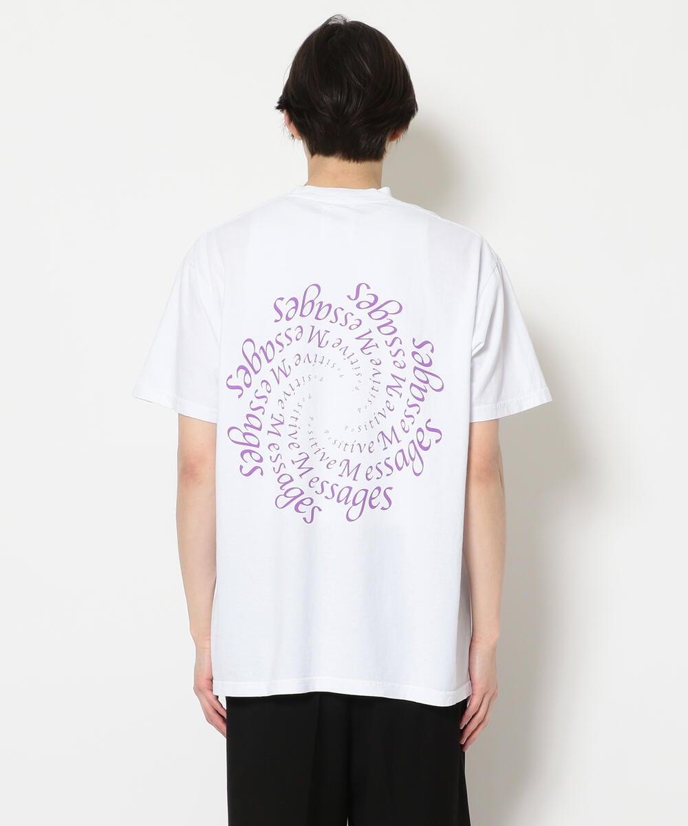 A Positive Message/ポジティブメッセージ/POZ MEZ BLEND SS TEE/Tシャツ