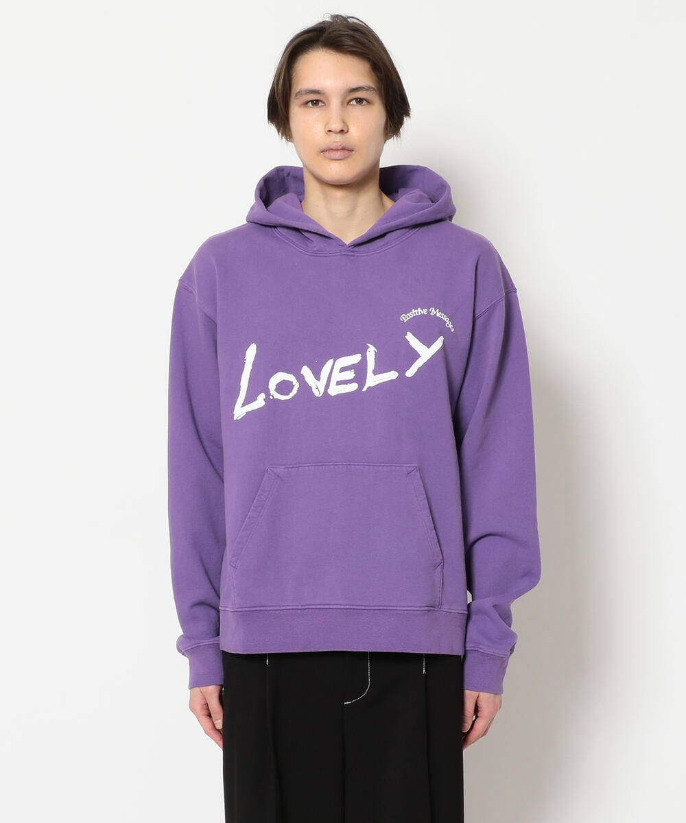 A Positive Message/ポジティブメッセージ/POZ MEZ LOVELY HOODED SWEAT/スウェット