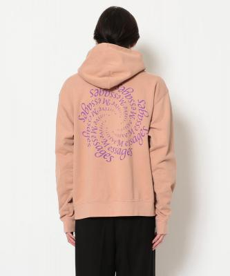A Positive Message/ポジティブメッセージ/AMPLIFICATION HOODED SWEAT/スウェット