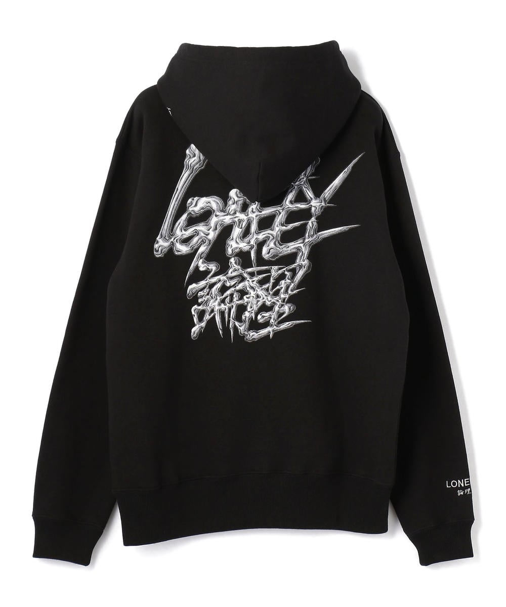 LONELY(論理)/ロンリー/METALIC HOODIE