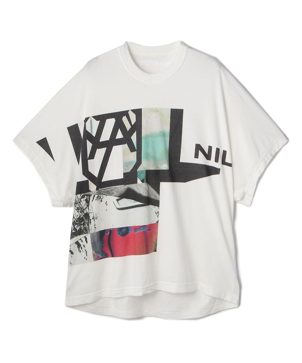 NILoS/ニルズ/CUT SEWN FOR MALE/グラフィックプリントTシャツ