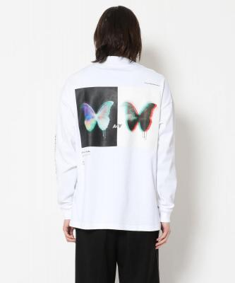 A4A/エーフォーエー/BUTTERFLY LS TEE/ロングスリーブTシャツ