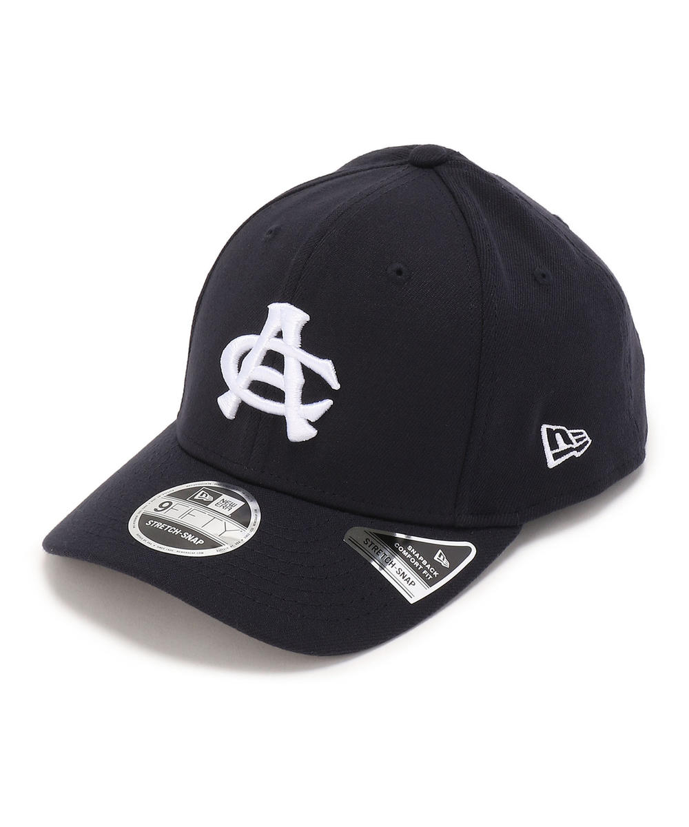 × NEW ERA/AC ストレッチ キャップ/9-FIFTY AC STRETCH CAP