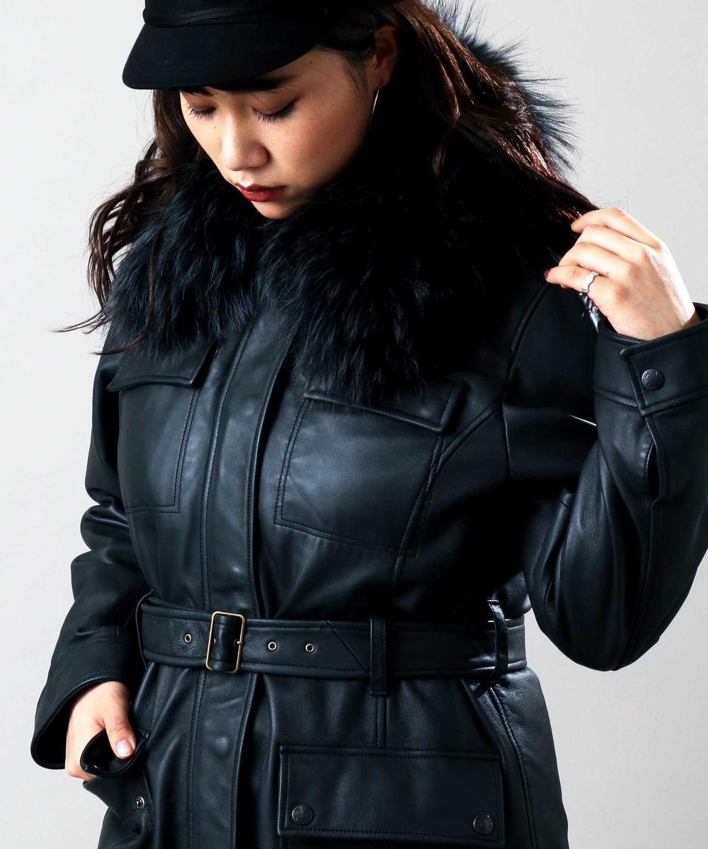 M-65 レザー ウィズ ザ ライナー/M-65 LEATHER WITH THE LINER