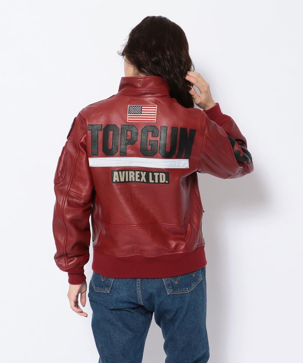 CWU LEATHER TOP GUN/HANGAR3