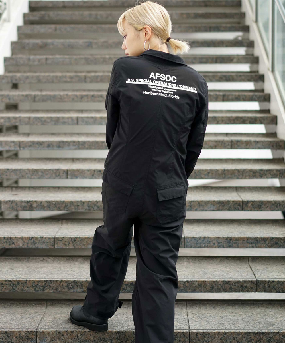 【AVIREX FLYER'S】WOMENS/ジャンプスーツ/JUMP SUIT/AF