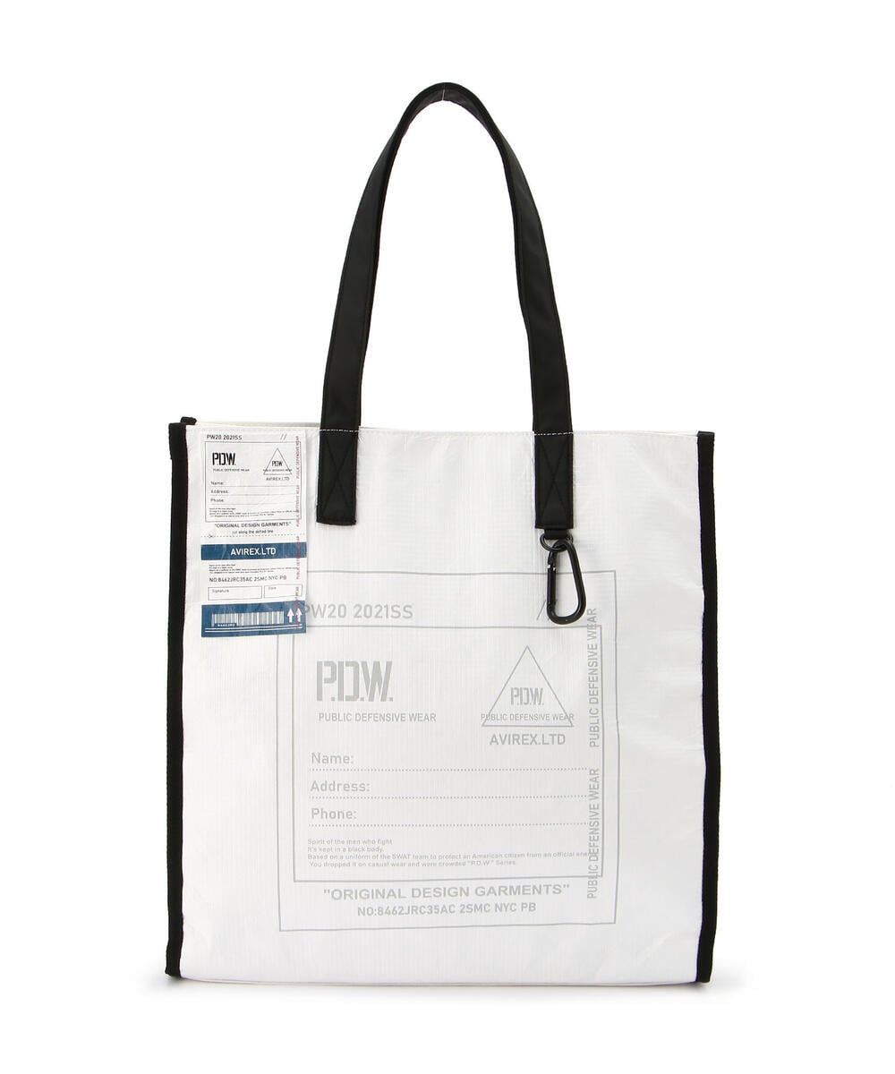 【PDW】トートバッグ/TOTE BAG