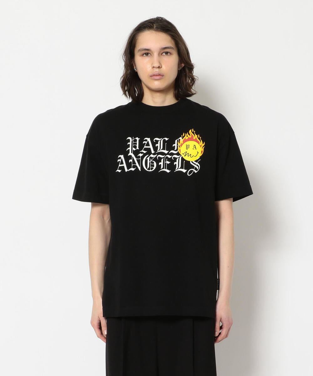 Palm Angels/パームエンジェルス/BURNING HEAD LOGO TEE/Tシャツ