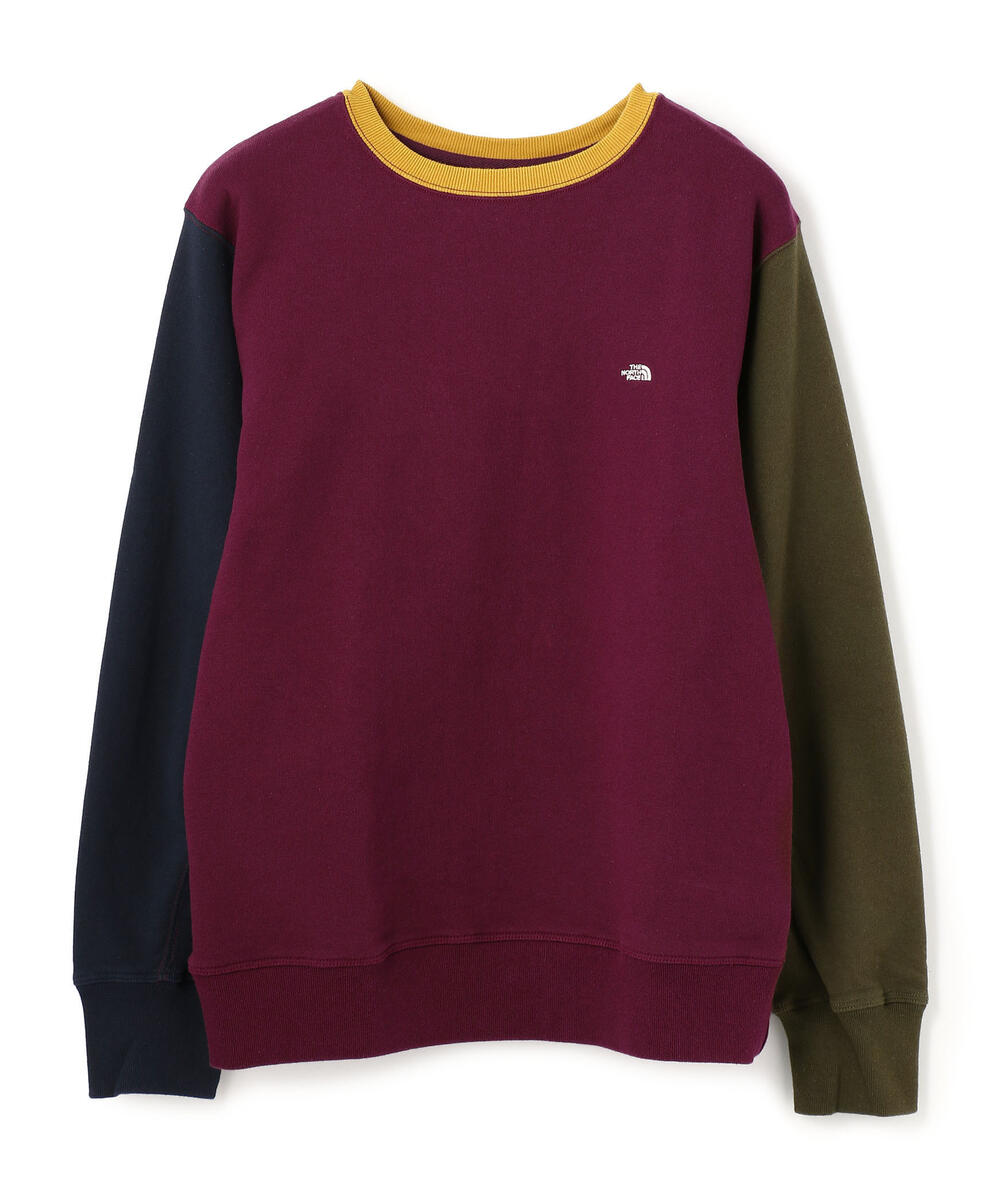 THE NORTH FACE PURPLE LABEL/Crew Neck Panel Sweat/クルーネックスウェット