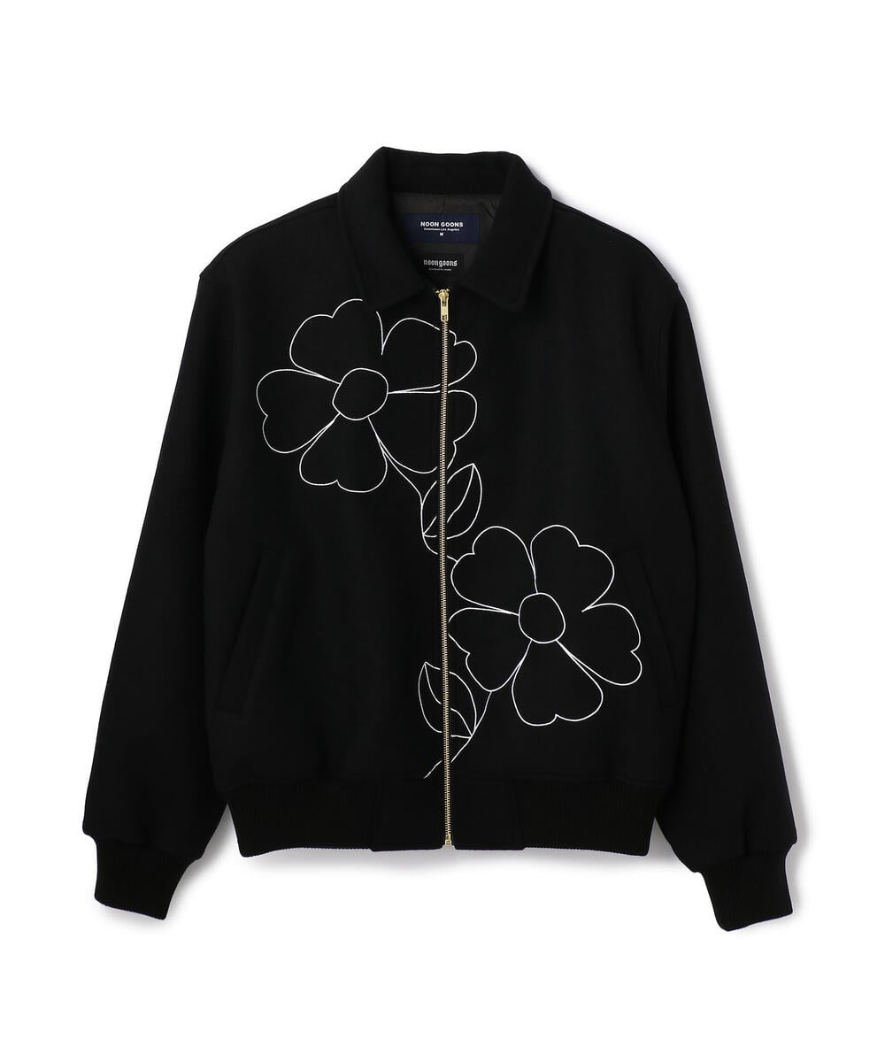 Noon Goons/ヌーングーンズ/FLORAN EMBROIDERY JACKET
