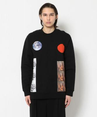 RAF SIMONS/ラフシモンズ/ARCHIVE REDUX Basic sweater with Sterling patches