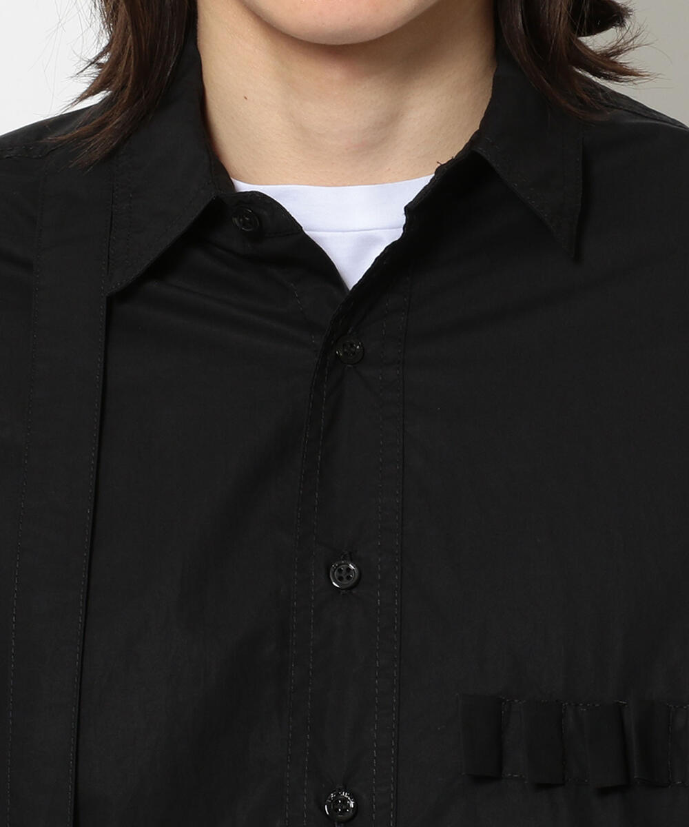 RAF SIMONS/ラフシモンズ/ARCHIVE REDUX Shirt with outside pockets and straps