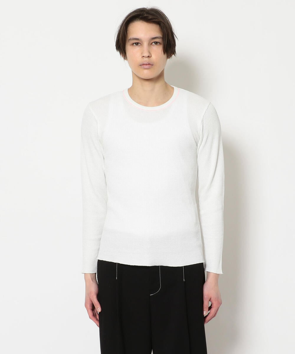 ERL/イーアールエル/MENS WAFFLE LNG S/JERSEY/カットソー