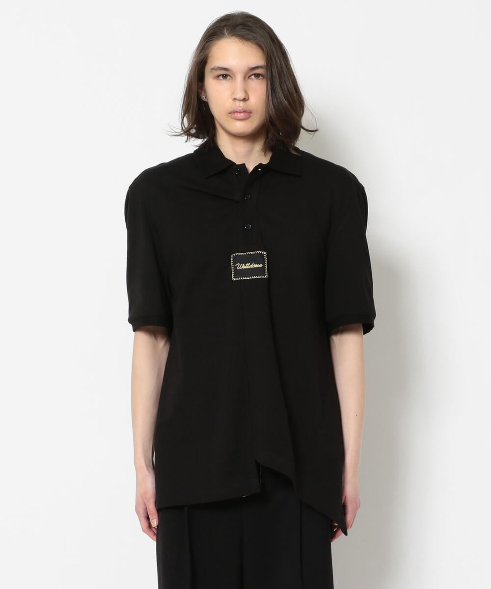 WE11DONE/ウェルダン/PANELED OVER-SIZE POLO