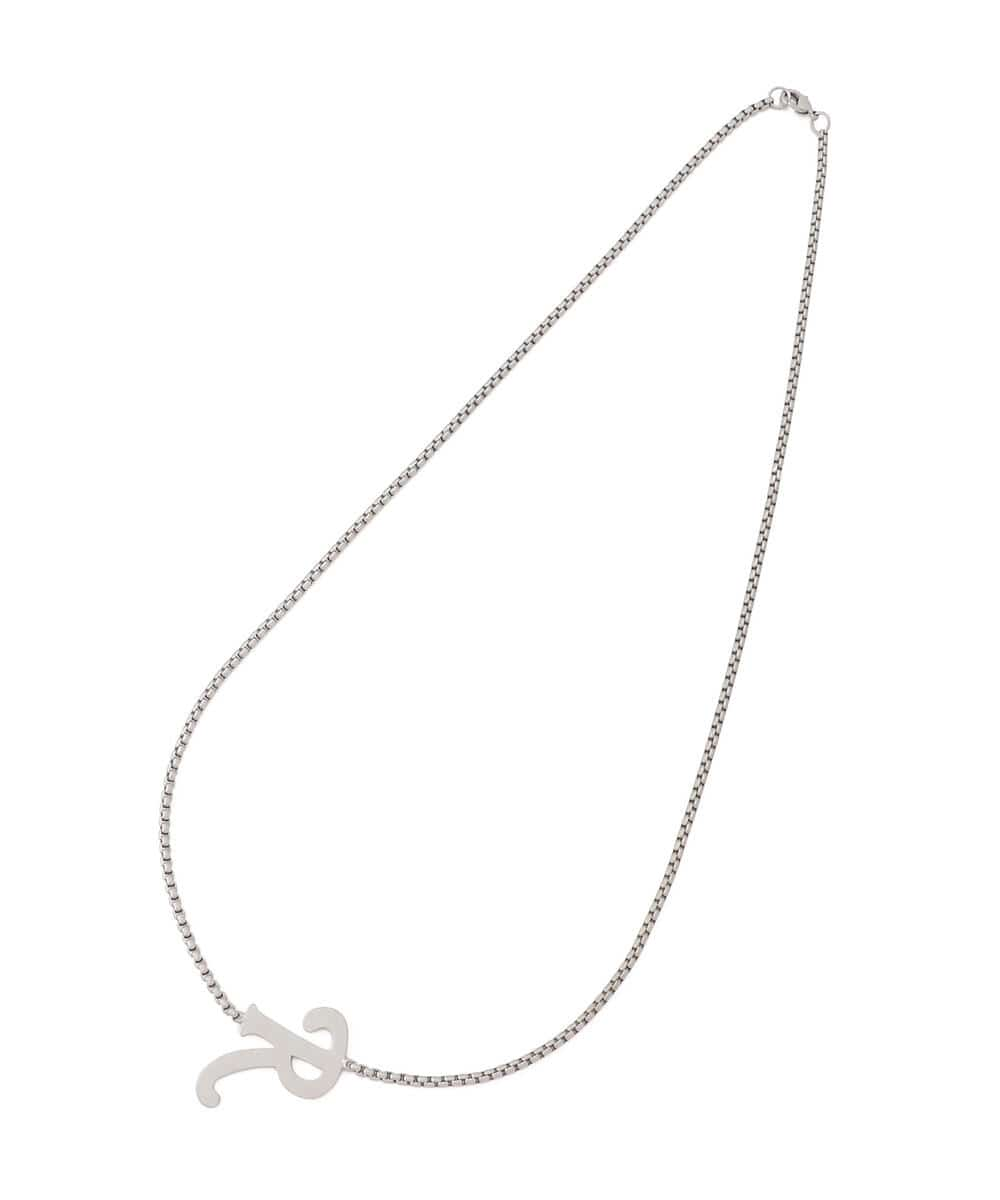 RAF SIMONS/ラフシモンズ/Simple R necklace/シンプルRネックレス