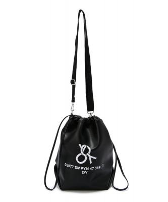 OY/オーワイ/WEAVE LOGO BUCKET BAG/バッグ