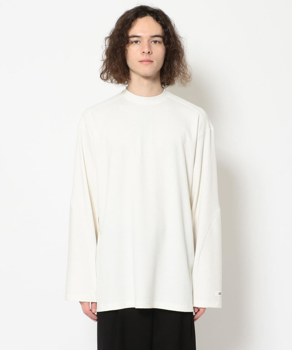 ADD SEOUL/アドソウル/TWIST SLEEVE RIBBED TEE