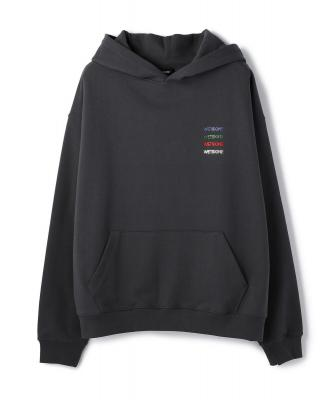 WE11DONE/ウェルダン/WE11DONE LogoPatched Hoodie/ロゴパーカー
