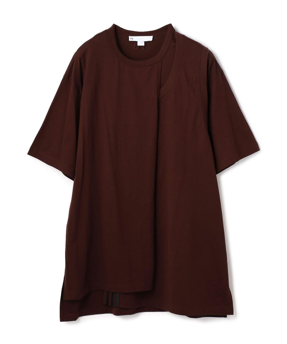 Y-3/ワイスリー/CH2 LAYERED S/S TEE