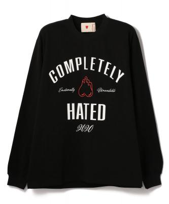 EMOTIONALLY UNAVAILABLE/エモーショナリー アンアベイラブル/COMPLETELY HATED L/S TEE/ロングスリーブTシャツ